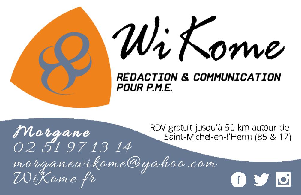 Réalisation d'une carte de visite / Wikome