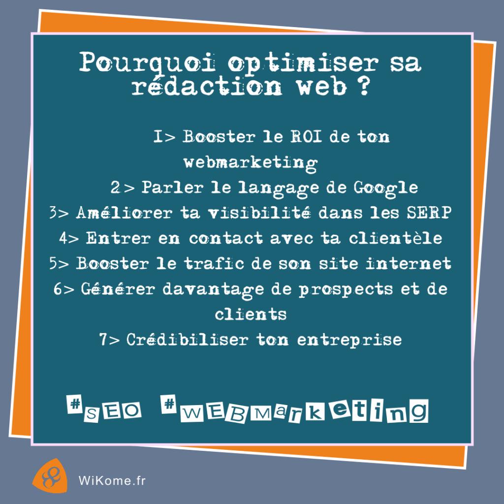 Pourquoi optimiser la rédaction web ?