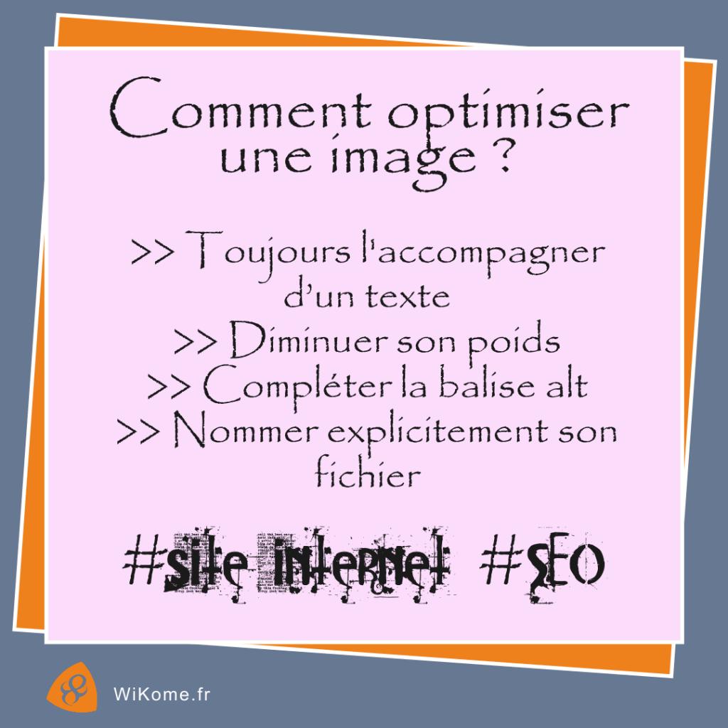 Quels conseils suivre pour optimiser le SEO d'une image ?